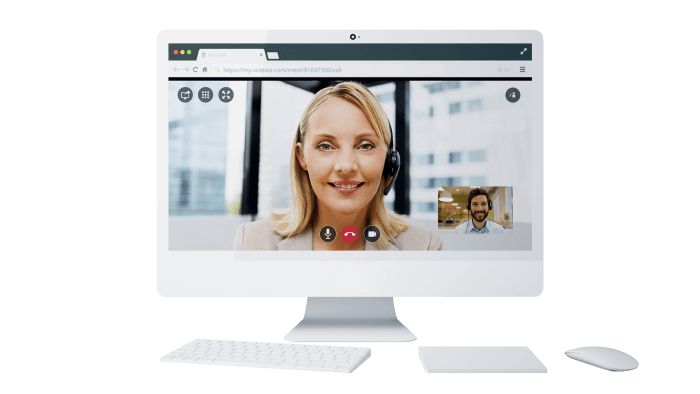 Serviço de videoconferência na Cloud